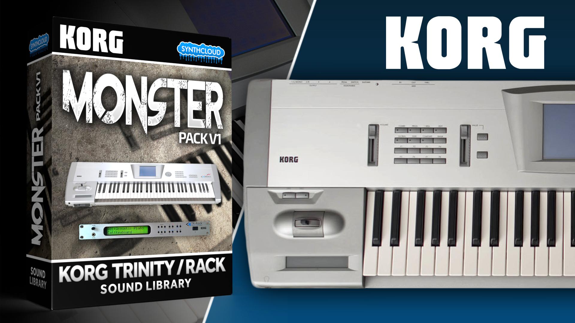 LDX22 - Monster Pack V1 - Korg Trinity / Rack